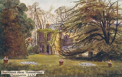 POSTCARD IOW  FARRINGFORD   Tennyson
