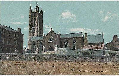POSTCARD  TEIGNMOUTH  St Michaels