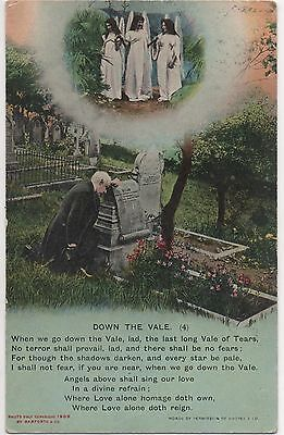 POSTCARD  SONG CARDS  Down the Vale (4)