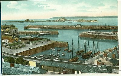POSTCARD JERSEY The Harbour