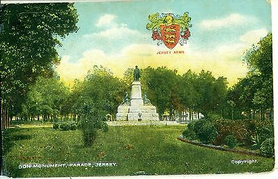 POSTCARD JERSEY Don Monument