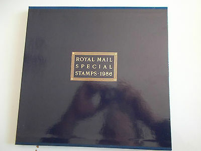 GB 1986 Year Book No.3 (Sealed & Complete with Slip Case) Cat £70 - Great Price