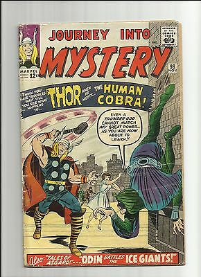 JOURNEY INTO MYSTERY with THOR 98