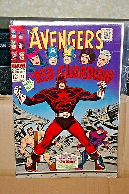The Avengers #38  and # 39  both 6.0  Hercules (Mar 1967, Marvel)