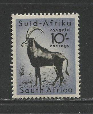 WILD ANIMALS: ANTELOPE ON SOUTH AFRICA 1954 Scott 213 TOP VALUE FROM SET, MNH