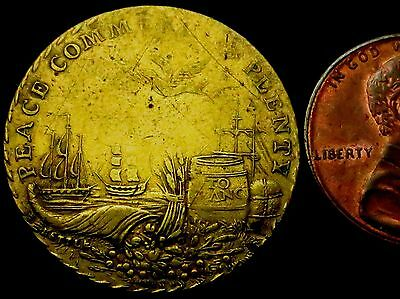 R920: 1801 Medal : Treaty of Amiens (peace between GB & France) : 165° rotation