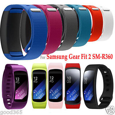 Soft Silicone Luxury Replacement Watch Band Strap For Samsung Gear Fit 2 SM-R360