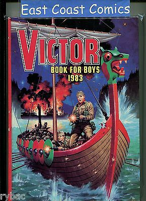 The Victor Book For Boys Annual 1983 - Very Fine Plus