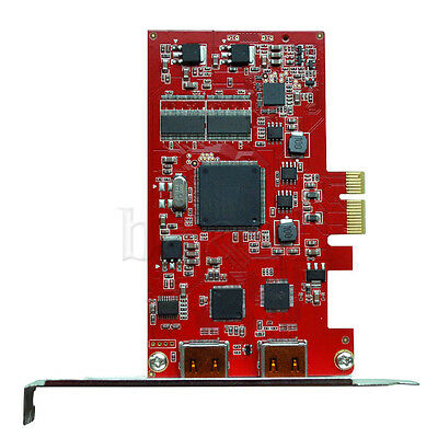 PCI-E HDMI Input+Output Video Capture Card Grabber 1080P 23HZ F Win8 Blu-Ray HG