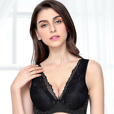 Women Feeding Nursing Pregnant Maternity Bra Cotton Lace Breastfeeding Pregnant