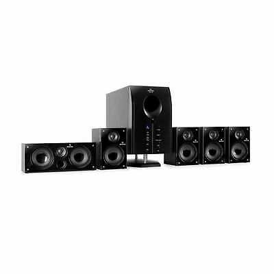 Heimkino System 5.1 Lautsprecher Surround Sound Boxen Home Cinema Subwoofer 125W