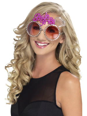 Bride To Be Glasses Hen do Adult Womens Smiffys Fancy Dress Costume Accessory