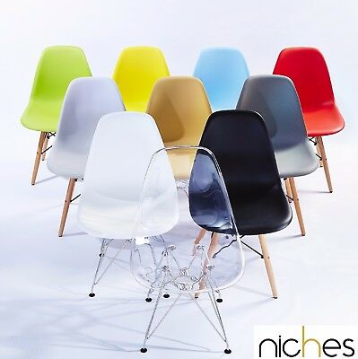 Eames Eiffel DSR DSW Plastic Dining Chairs office chair style modern design new