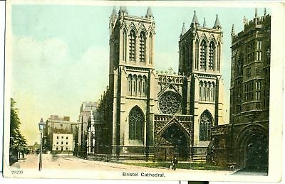 POSTCARD  BRISTOL The Cathedral