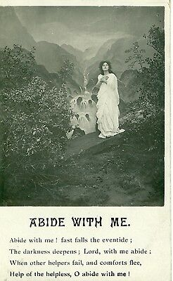 POSTCARD SONG Abide with me
