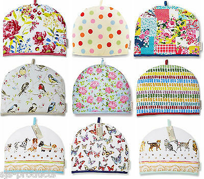 New Cooksmart Insulated Tea Pot Teapot Cosy 100% Cotton Novelty Kitchen Cover