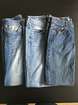 Lot (3) Women's Jeans Size 6 Name Brand