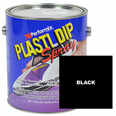 Plasti Dip Spray, 1 Gallon Can, Ready to Spray, Matte - BLACK
