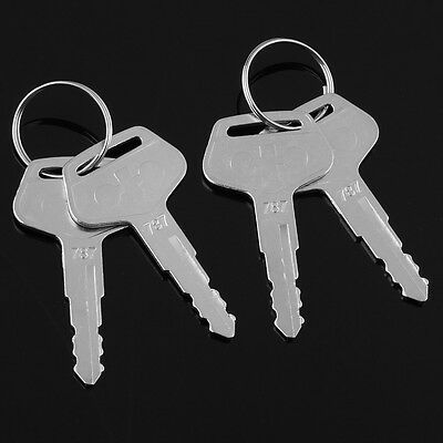 4pcs New Style 787 Keys for Komatsu Heavy Equipment Excavator Dozer Loader