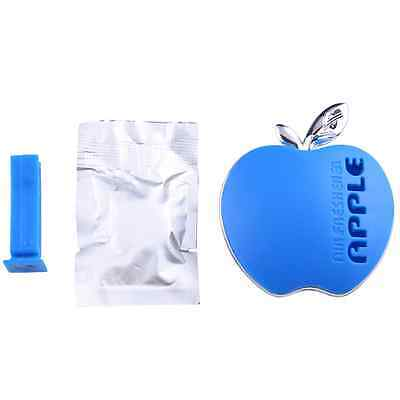 Auto Car Air Freshener Perfume Scent Hang Interior Decoration Apple Shape Blue