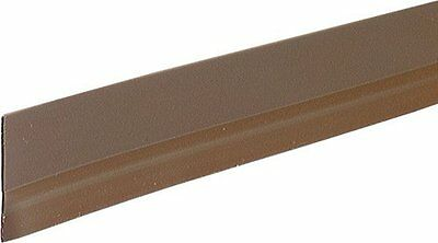 NEW (2) M-D Building Products 05603 36in Self Adhesive Door Sweep Brown *