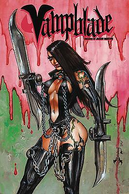 Vampblade #1 Aod Collectables Simon Bisley Limited 1 Of 2500 Regular Cover 2016