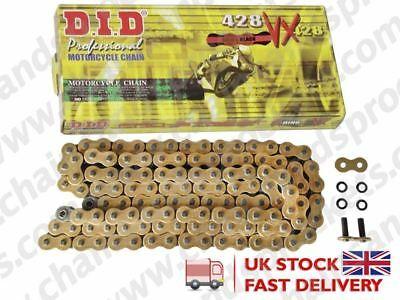 DID Gold Heavy Duty X-Ring Chain 428VXGB 130 fits Honda MTX125 83-94