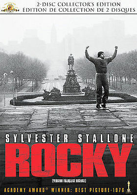 Rocky Dvd 2007 2-Disc Set Canadian Collector's Edition Mgm
