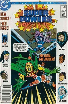 Superpowers #1 Of A 4 Part Mini Series Dc Comics 1986