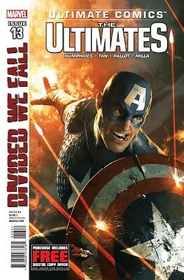 Ultimate Comics Ultimates #13 Divided We Fall Marvel Comics