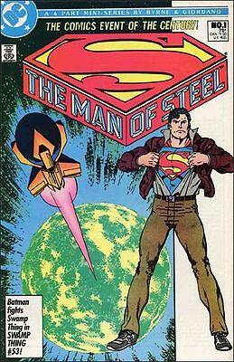 The Man Of Steel Complete Mini Series Set Of 6 Issues #1,2,3,4,5,6 Dc Comics
