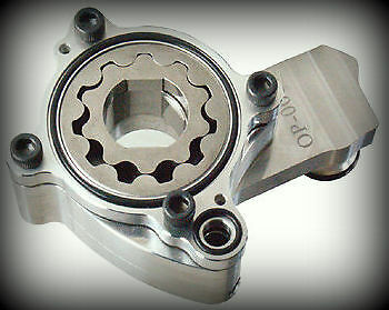 High Volume Flow Oil Pump Harley Twin Cam Softail Touring Dyna A B motor Ultima