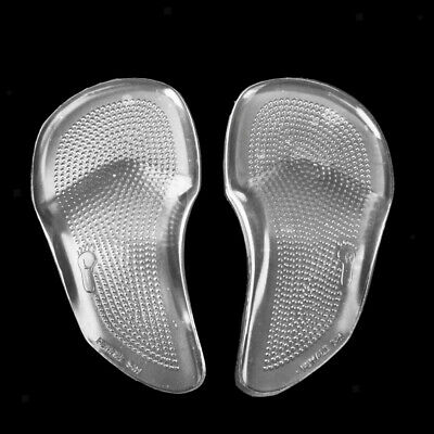 Footful 2x Silicone Gel Forefoot Shoes Cushion Arch Support Pads Inserts