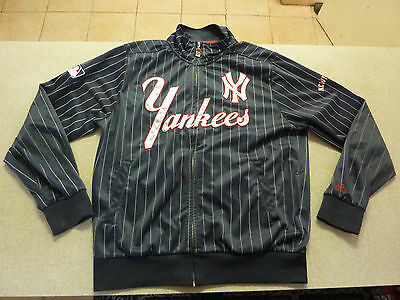 Men's XXL Jacket NEW YORK YANKIES Cooperstown Majestic Athletic Near New Quality