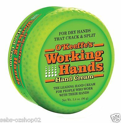 O'Keeffe's Working Hands Hand Cream for Dry Cracked Split Hand Okeeffes Okeefe's