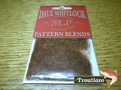 Slf Dave Whitlock Brown Stone Nymph Dubbing - New Fly Tying Material