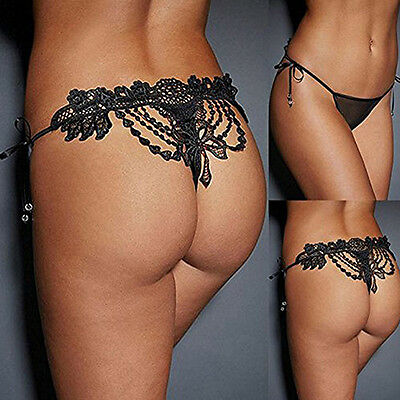 New Nice Sexy Women Lady Lace G-String Thongs Lingerie Panties Underwear