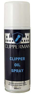 Clipperman Horse Clipper Oil Spray 200 Ml Can