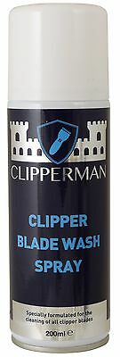Clipperman Clipper Blade Wash Spray  200 Ml