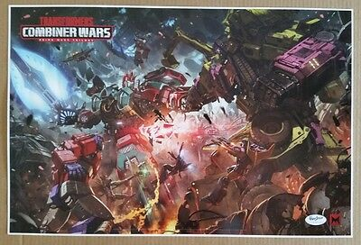 SDCC Comic Con 2016 Handout TRANSFORMERS Combiner Wars poster
