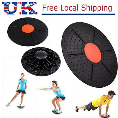 Balance Wobble Board Workout Rehabilitation Fitness Exercise Training Yoga UK