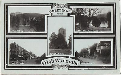 POSTCARD  HIGH WYCOMBE   Views