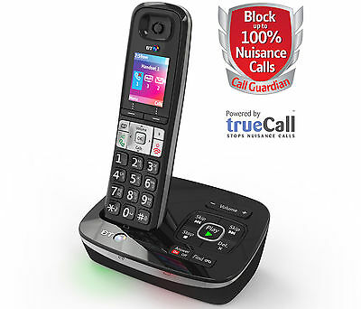 BT8500 Single DECT Cordless Phone with Answerphone - Call Blocker --RRP:£59.99