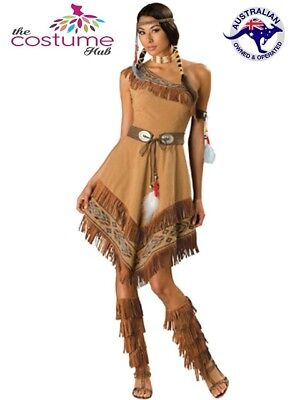 Plus Size Womens Pocahontas/native American Costume
