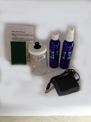 Colloidal Silver Generator .9999 Silver 12 Ga. Rods Easy To Use Kit #102R