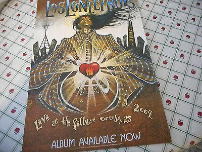 Los Lonely Boys Live At The Fillmore 2004  Poster Flat