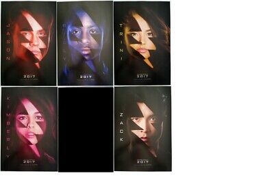 SDCC Comic Con 2016 Handpout Power Rangers 2017 movie promo posters Set/Singles