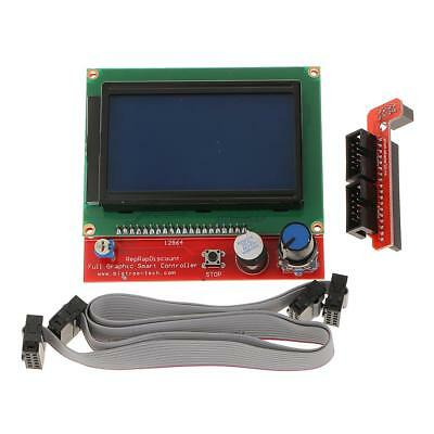 Smart LCD 2004 Smart Display Controller Kit Adapter for 3D Printer RAMPS 1.4