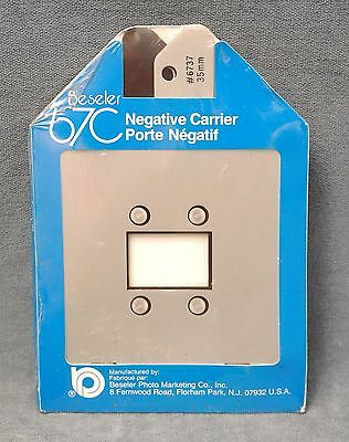 Beseler 67C 35Mm Negative Carrier #6737 Nos, Nip