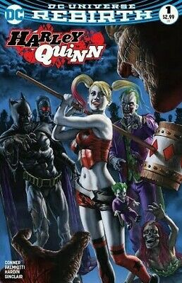 Harley Quinn #1 Rodolfo Migliari Exclusive Limited 1 Of 3000 Cover Dc 2016